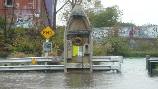 Gowanus Canal after Sandy