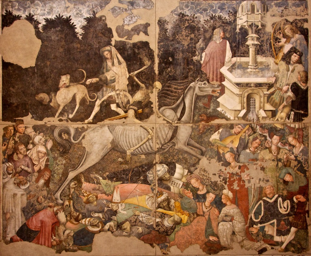 Triumph of Death Wall Painting, ca. 1448, Palazzo Abatellis, Palermo